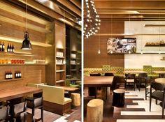 interior colors for coffe shop | GAGA coffee shop interior design - New Designing