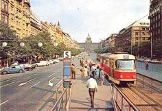 Tramvaj na Václaváku. Třeba se vrátí! | Starý páky Praha, Czech Republic, Ale, Most Beautiful, Old Things, Street View, Europe, Humor, Retro