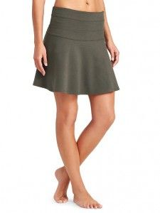 Ponte Twill Skirt