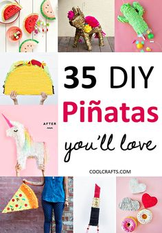35 Piñata Ideas That Will Be The Life of Any Party