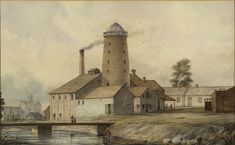 The rise and fall of the Gooderham and Worts windmill Guernica, Physical Geography, Environmental Science, Landscape Photos, Windmill, Historical Photos, 19th Century, Toronto, Past