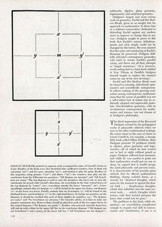 Lewis Carroll: Mathematician | Modern Mechanix | Page 2