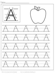 26 Free Kids Handwriting Worksheets -Easy Download!