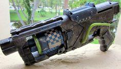 Borderlands/Wasteland Inspired Nerf Gun by DreemwvrCreation