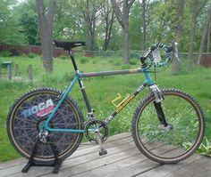 John Tomac bike - Tioga disk a berany, hodně old school :) Cycling Coach, Yeti Cycles, Bicycle Store, Retro Bike, Bicycle Race, Touring Bike, Old Bikes, Classic Bikes, Vintage Bicycles
