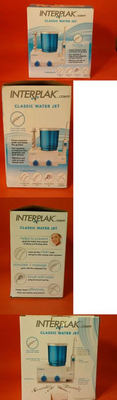 Air and Water Flossers: ? Interplak Conair Classic Water Jet Flosser Gum Line Dental Oral Health Care ? -> BUY IT NOW ONLY: $32.99 on eBay!