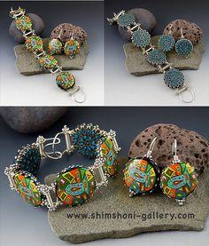 Blue Fish Jewelry Set
