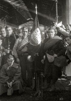 Spain - 1936-39. - GC - Donostiando - milicianos
