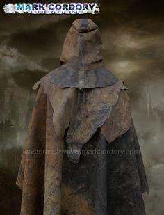 Metro2033 Fallout Mad Max LARP costume - rubberised cloak by Mark Cordory Creations www.markcordory.com