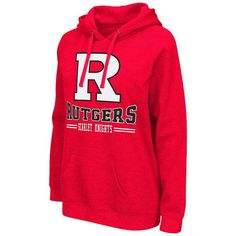 Women's Campus Heritage Rutgers Scarlet Knights Throwback II Hoodie, Red Other
