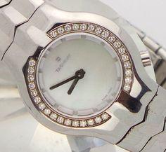 "Ladies Tag Heuer ""Alter Ego"" Diamond & MOP Dial Swiss Quartz WristWatch WP1414 #TagHeuer #LuxuryDressStyles"