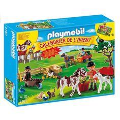 Playmobil 4167 - Calendrier de l'avent Ferme équestre Playmobil - Magasin de Jouets pour Enfants