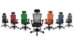 Sillas ergonómicas para oficina Thales. Colores disponibles. haraiberia.com