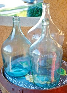 LAST ONEVintage Italian demijohnblown by 180degreesvintage on Etsy, $118.00