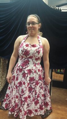 Possible option. Dallas vintage shop. $95. No petticoat in pic. Would dress up more with heals, gloves, maybe a nice wrap