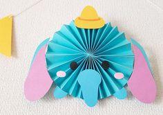 ペーパーファンのディズニーツムツムお誕生表を制作しました〜プリプリ2019年4月号特別付録 | Happy Birthday Project Diy Paper, Paper Art, Paper Crafts, Dog Crafts, Diy And Crafts, Diy For Kids, Crafts For Kids, Felt Crafts Patterns, Tsumtsum