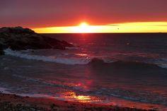 Monday's Sunrise 2  Spring beach. Photo by GVIslander. wunderground.com