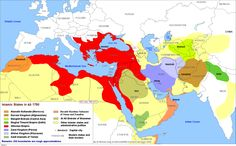 Like any other major history, the history of the Islamic States after the creation of Islam is rich. For a better understanding about Islam and the Middle East, I would advice to study those maps, … Germany Poland, Semitic Languages, Indian Language, Sumerian, Historical Maps, Science, Ottoman Empire, Culture, Afghanistan