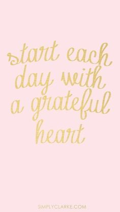 "Start each day with a grateful heart. Live each minute of the day with a grateful heart. Go to sleep with a grateful heart. ""And give thanks for everything to God the Father in the name of our Lord Jesus Christ. Now Quotes, Life Quotes Love, Words Quotes, Great Quotes, Ellen Quotes, Cute Inspirational Quotes, Funky Quotes, Good Day Quotes, Truth Quotes"