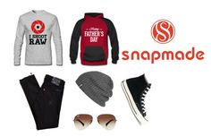 """Snapmade#1"" by muhamed-hodzic ❤ liked on Polyvore featuring Outdoor Research, Ray-Ban, Levi's, Converse, men's fashion and menswear"