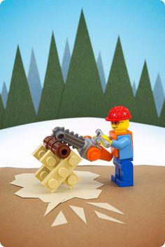 Chainsaw #lego art