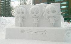 Love Live! #ラブライブ さっぽろ雪まつり