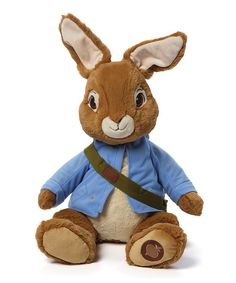 Look at this GUND Peter Rabbit Plush Toy on #zulily today!