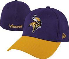 pretty nice 9cae1 f2cb3 NFL Minnesota Vikings TD Classic 3930 Cap By New Era, Purple Gold, Large