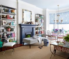 A Colorful, Neo-Trad Apartment in Chicago - Home Tour - Lonny