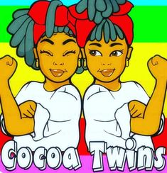 Introducing Cocoa Twins artist: Jamesha Bazemore Joining The Marines, Twin Pictures, Cad Designer, Non Commissioned Officer, Identical Twins, Happiness Project, Face Light, Girls Image, Black Girl Magic