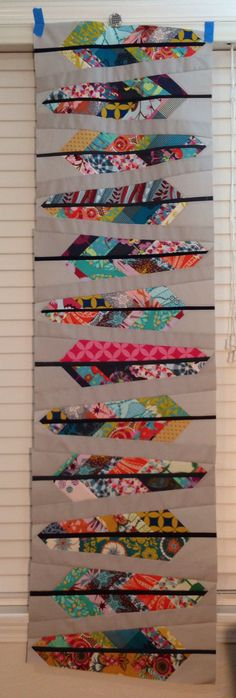 AMH feathers twin size quilt | by Angelina79