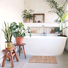 Badkamer inspiratie: de natuurlijke badkamer