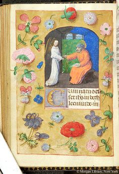 Book of Hours, MS S.7 fol. 47v - Images from Medieval and Renaissance Manuscripts - The Morgan Library & Museum