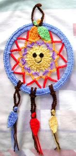 Grandma Perkins Dream Catcher Frisbees