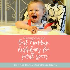 If you're looking for a highchair for your little one, but are short on space, you've come to right place. Check out our reviews of the top 3 picks. #highchairs #babyfeeding Best High Chairs, Hospital Bag Checklist, Chairs For Small Spaces, Good Posture, Baby Safe, Best Relationship, Health And Safety, Baby Feeding, Baby Gear