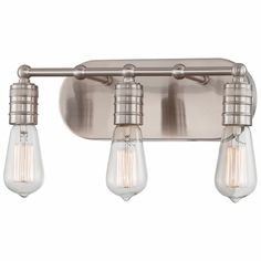 Bathroom Vanity Lights Facing Up Or Down : Great Looks for the Bath on Pinterest Bath Light, Sconces and Steel Bath