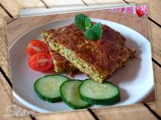 Cuketová baba pečená na plechu. | Hrnčekové Meatloaf, Food, Meal, Essen, Hoods, Meals, Eten