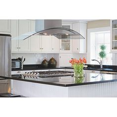 Kitchen Island with Stovetop