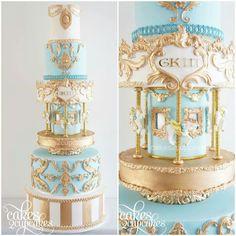 Carrousel Cake