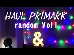 HAUL PRIMARK RANDOM Vol I - YouTube
