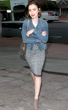 lily collins street style - Buscar con Google