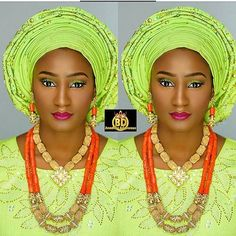 #Asoebi #asoebispecial #speciallovers #wedding #makeup  @slushlashmakeover Asooke @bolsy_asooke Beads @beadsbybd_kween  Captured by @photographybyabis
