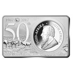 Südafrika Silber 50 Jahre Krügerrand Set PP