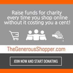 The Generous Shopper is an online fundraising shop that's raise money for charity by simply going online and shopping for your favorite stuff. Visit at https://www.thegenerousshopper.com/