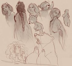 brave sketch