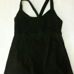Lululemon tank Support bra interior , thick polyester / spandex like new lululemon athletica Intimates & Sleepwear Bras