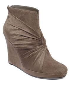 Impo Shoes, Taborri Wedge Booties - Shoes - Macy's