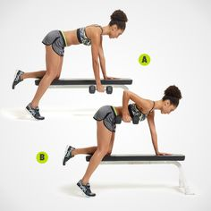 http://www.womenshealthmag.com/fitness/one-dumbbell-workout - Follow link for great one dumbbell work-outs!