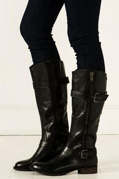 Steve Madden Sonnya Boot in Black