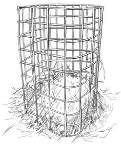 How to build a hay feeder for your goats with cattle panel- great idea! I have extra panel too!